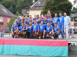Offizielle Meisterfeier des TSV Meisl Grein 2013
